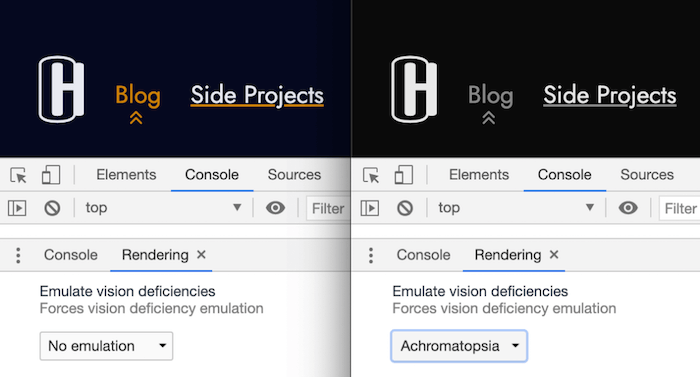 An Accessible Current Page Navigation State