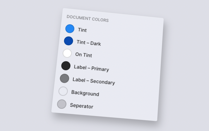 Color Systems plugin