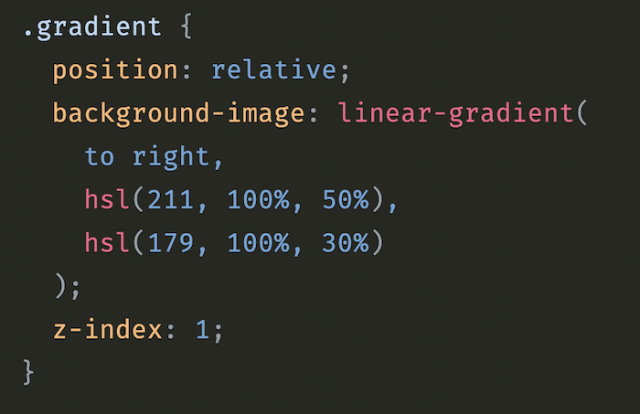 Transitioning CSS Gradients
