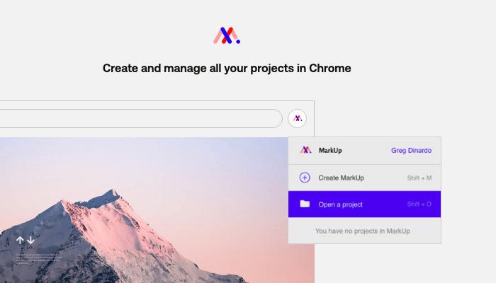 MarkUp For Chrome