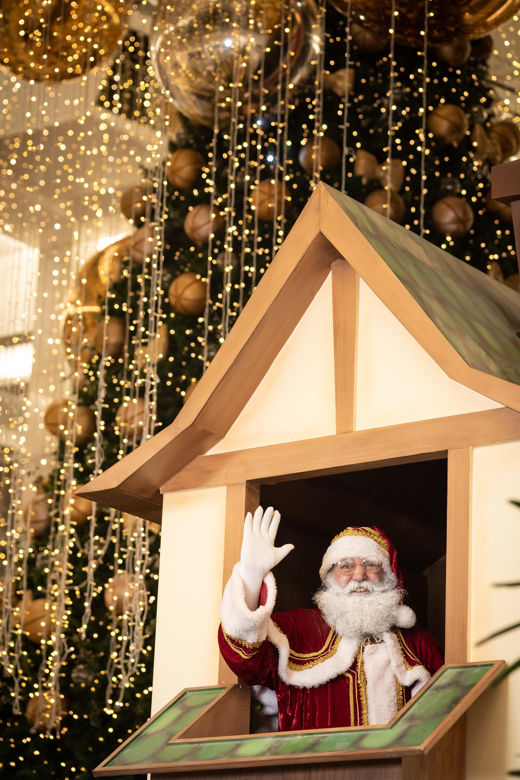 5c6a3e6f ce03 4045 a842 d4641087a09f No Natal, Taguatinga Shopping celebra seus 20 anos com decoração especial comemorativa