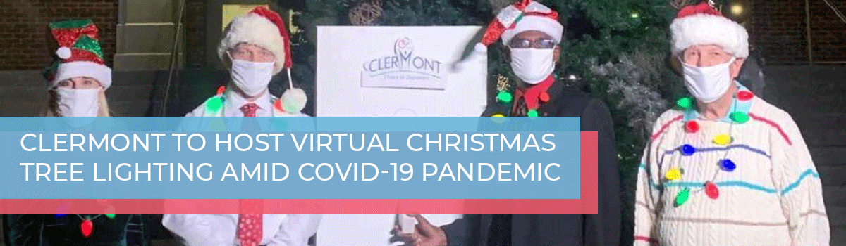 Clermont to host virtual Christmas tree lighting amid COVID-19 pandemic