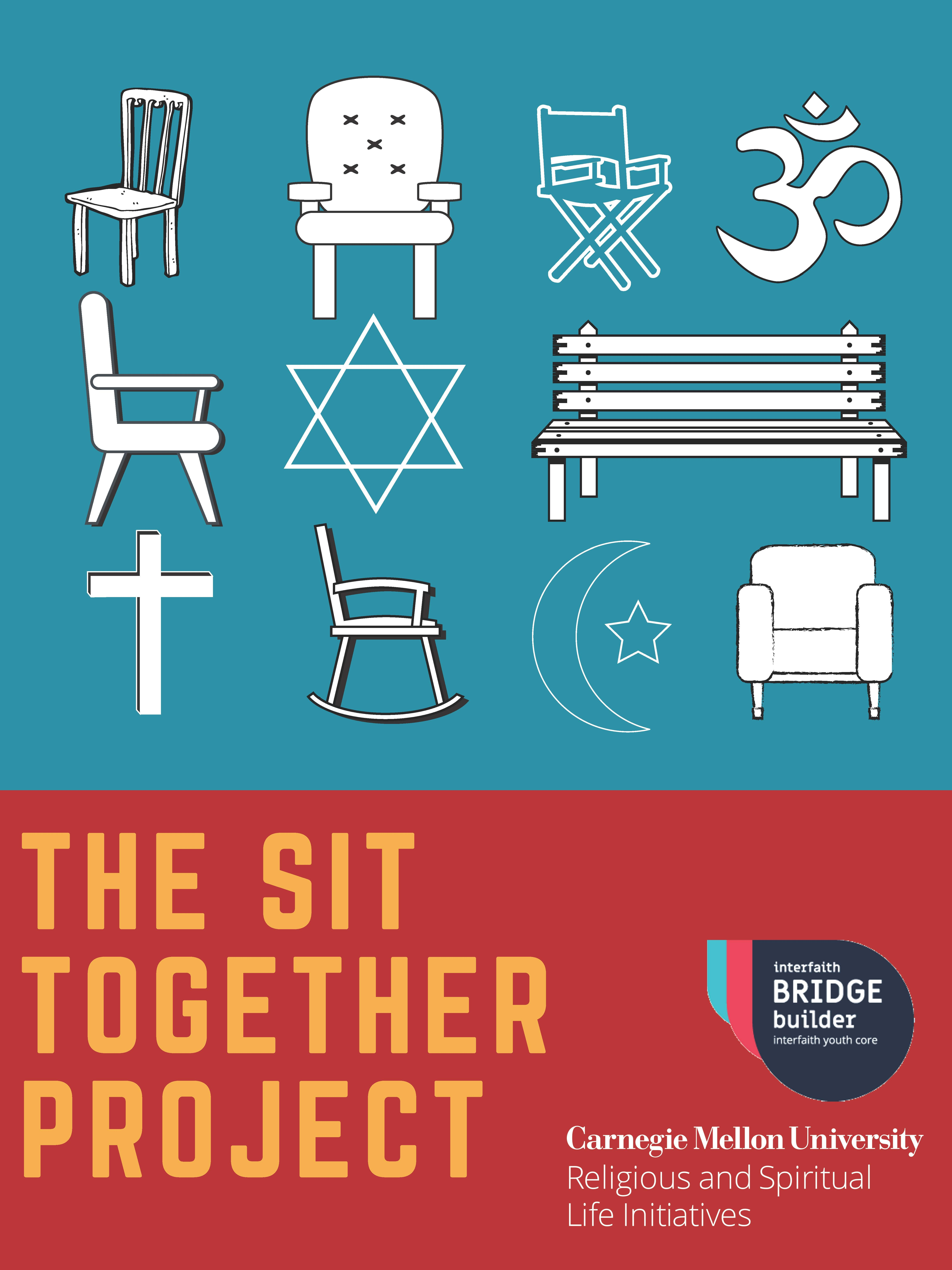 Flyer for the Sit Together project.