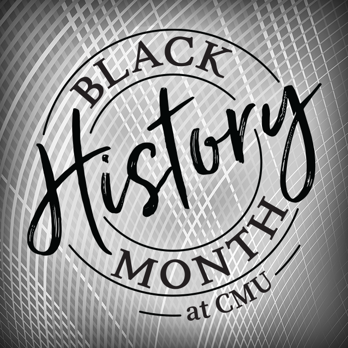 Logo for Black History Month at CMU