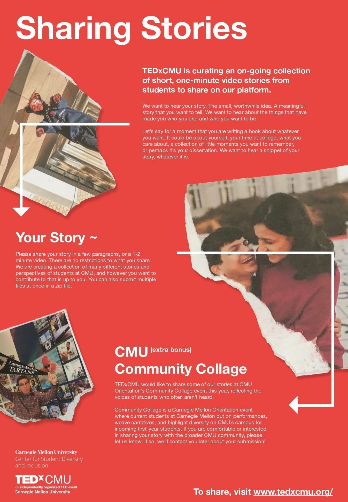 Flyer for Community Collage