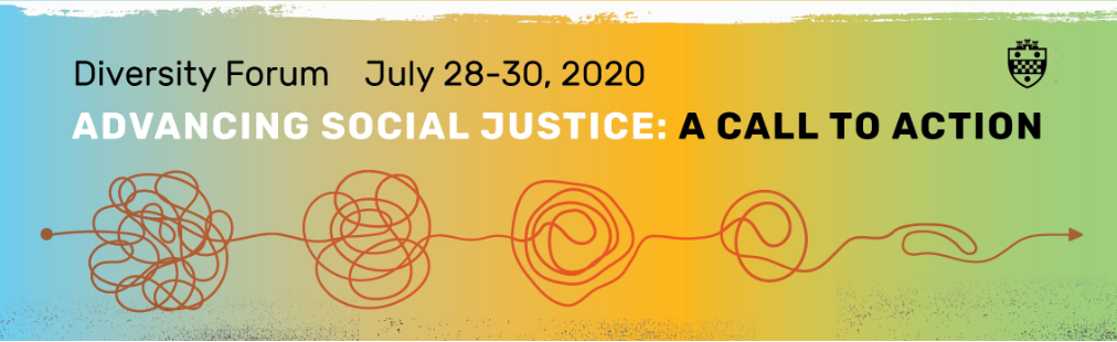 """Flyer for """"Advancing Social Justice: A Call to Action"""""""