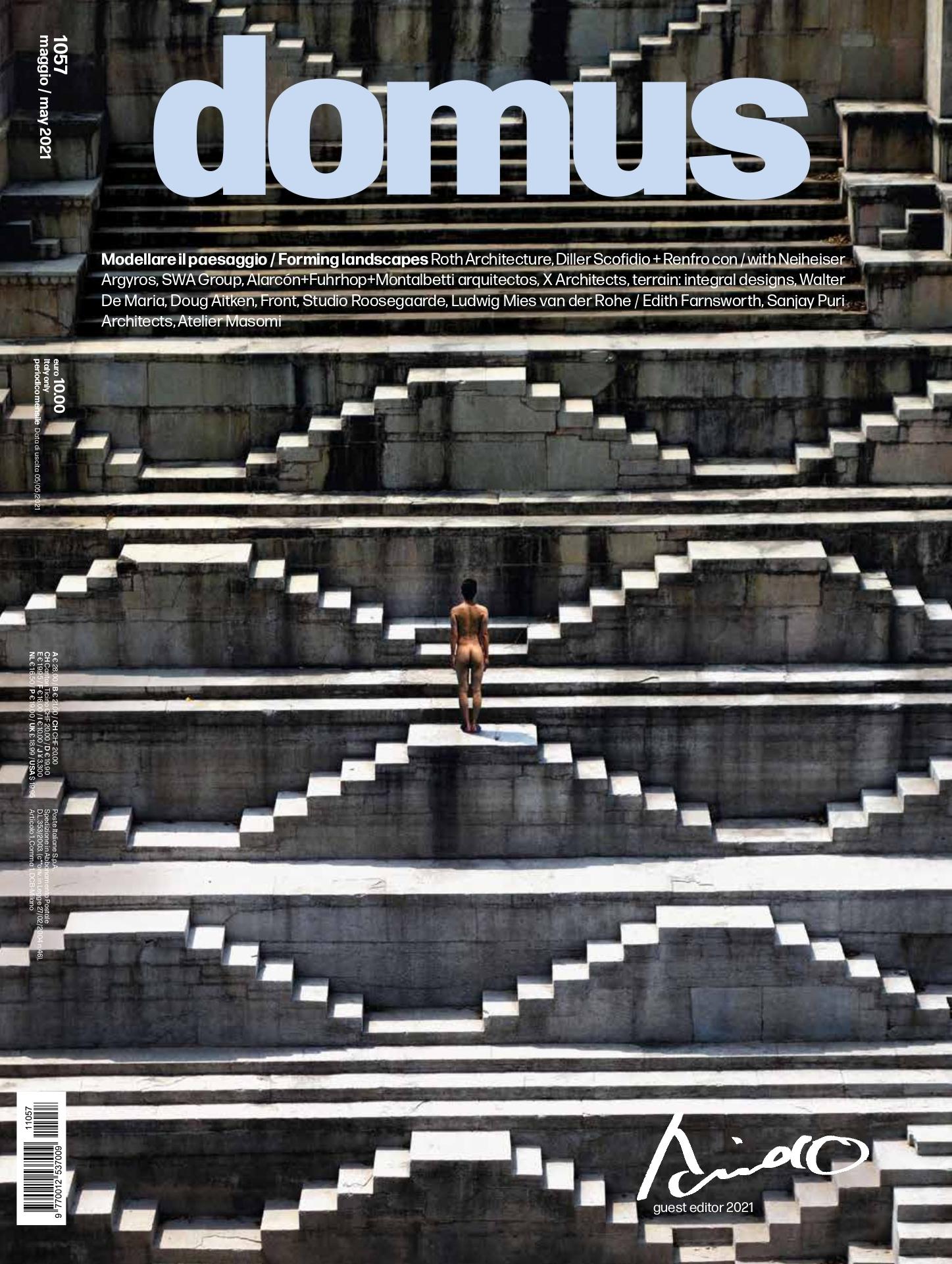 Revista Domus 1057 mayo