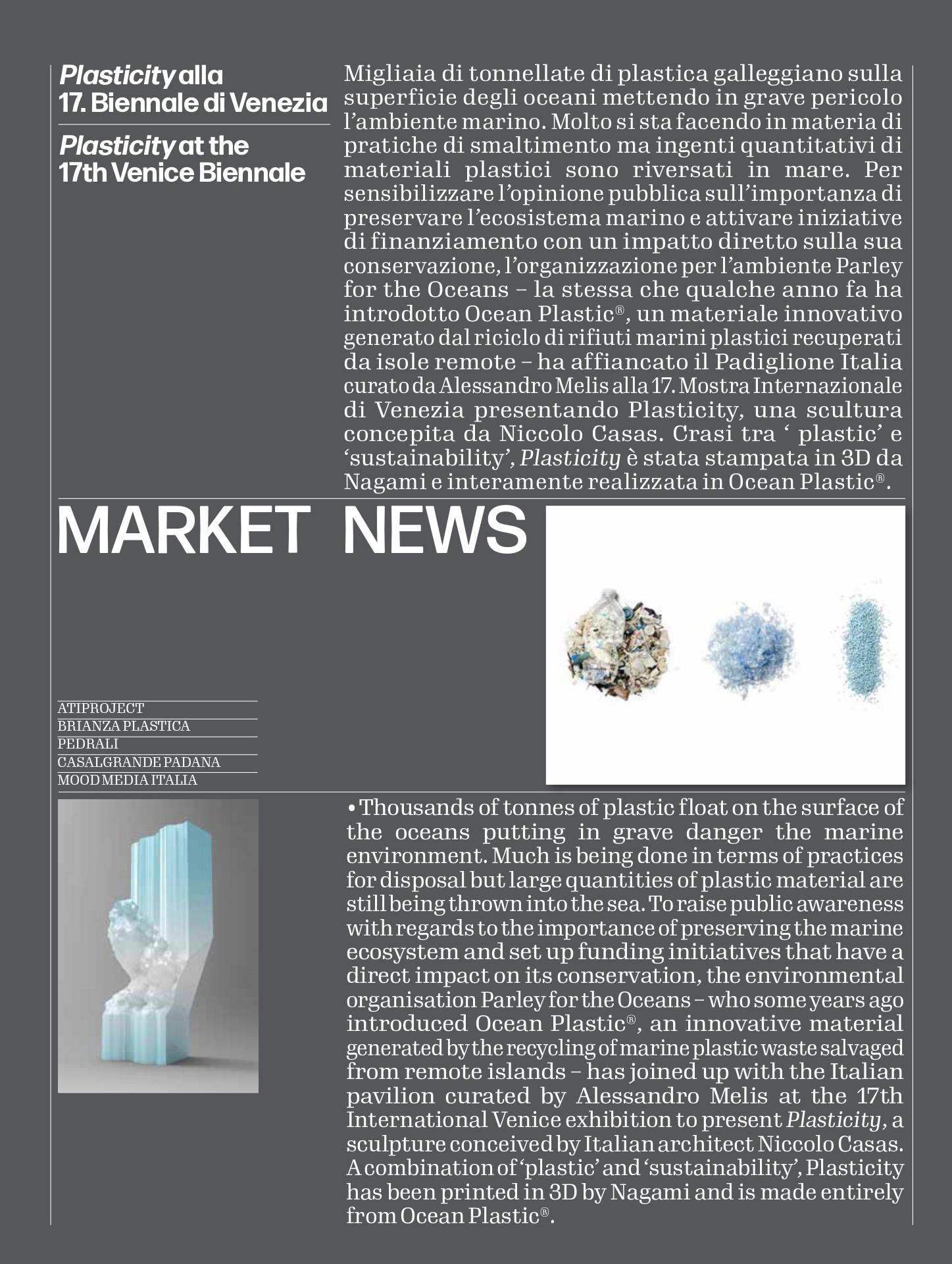 Revista Domus, dossier green