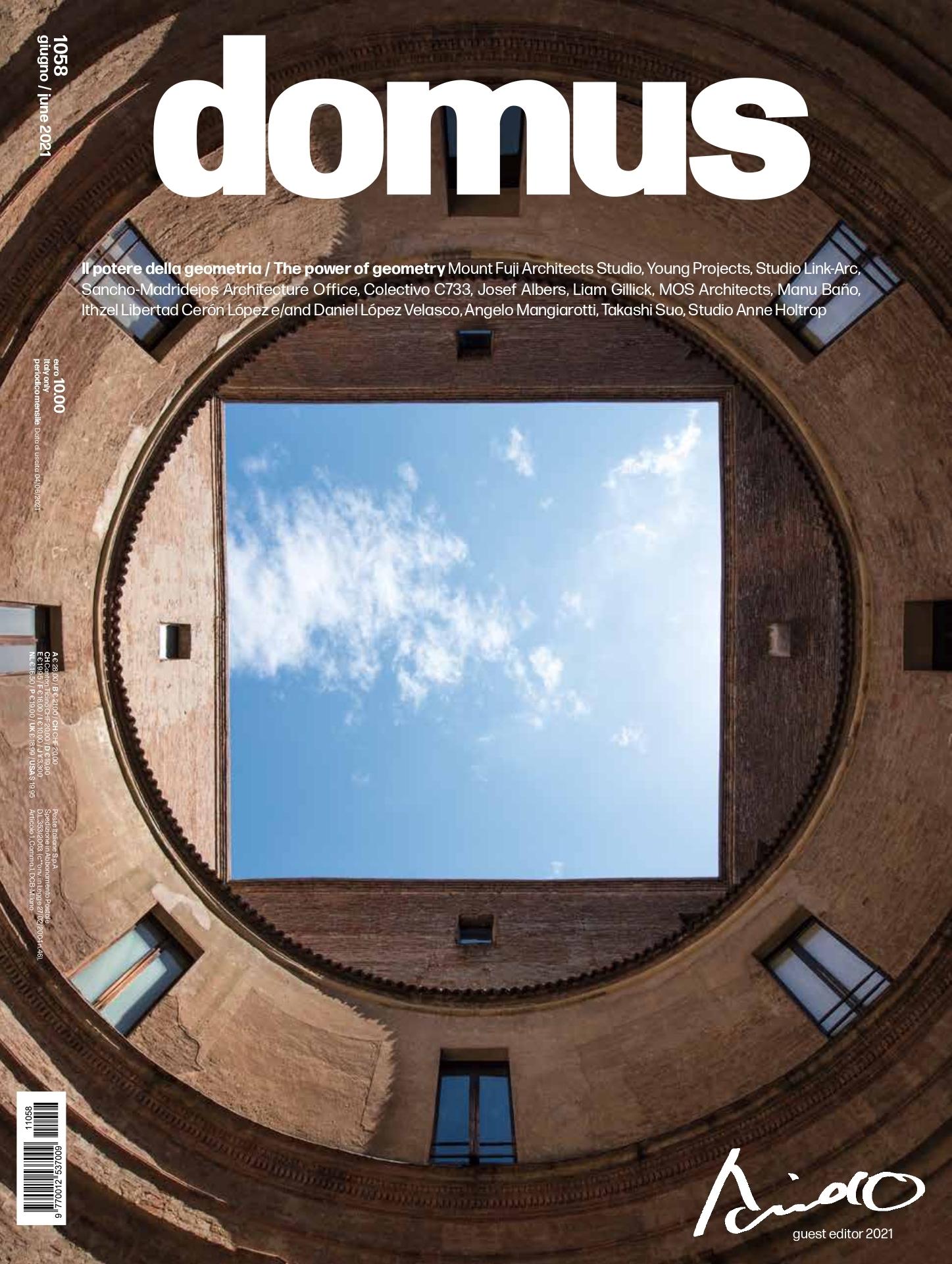 Revista Domus junio 2021 editorial