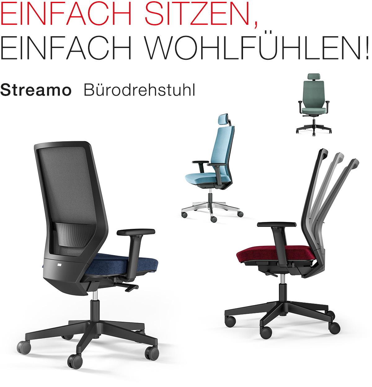 Streamo – Einfach sitzen, einfach wohlfühlen!