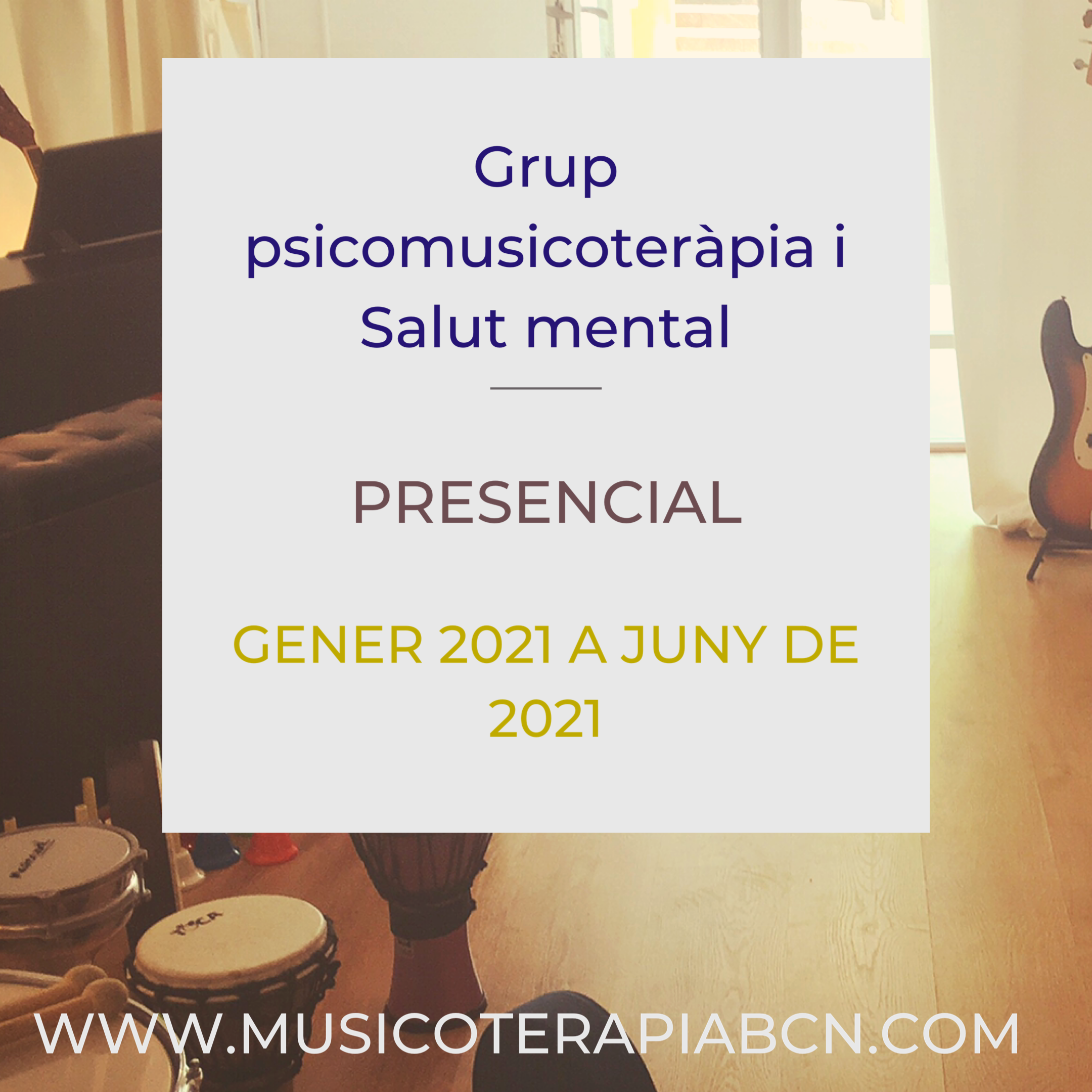 Musicoterapia salud mental