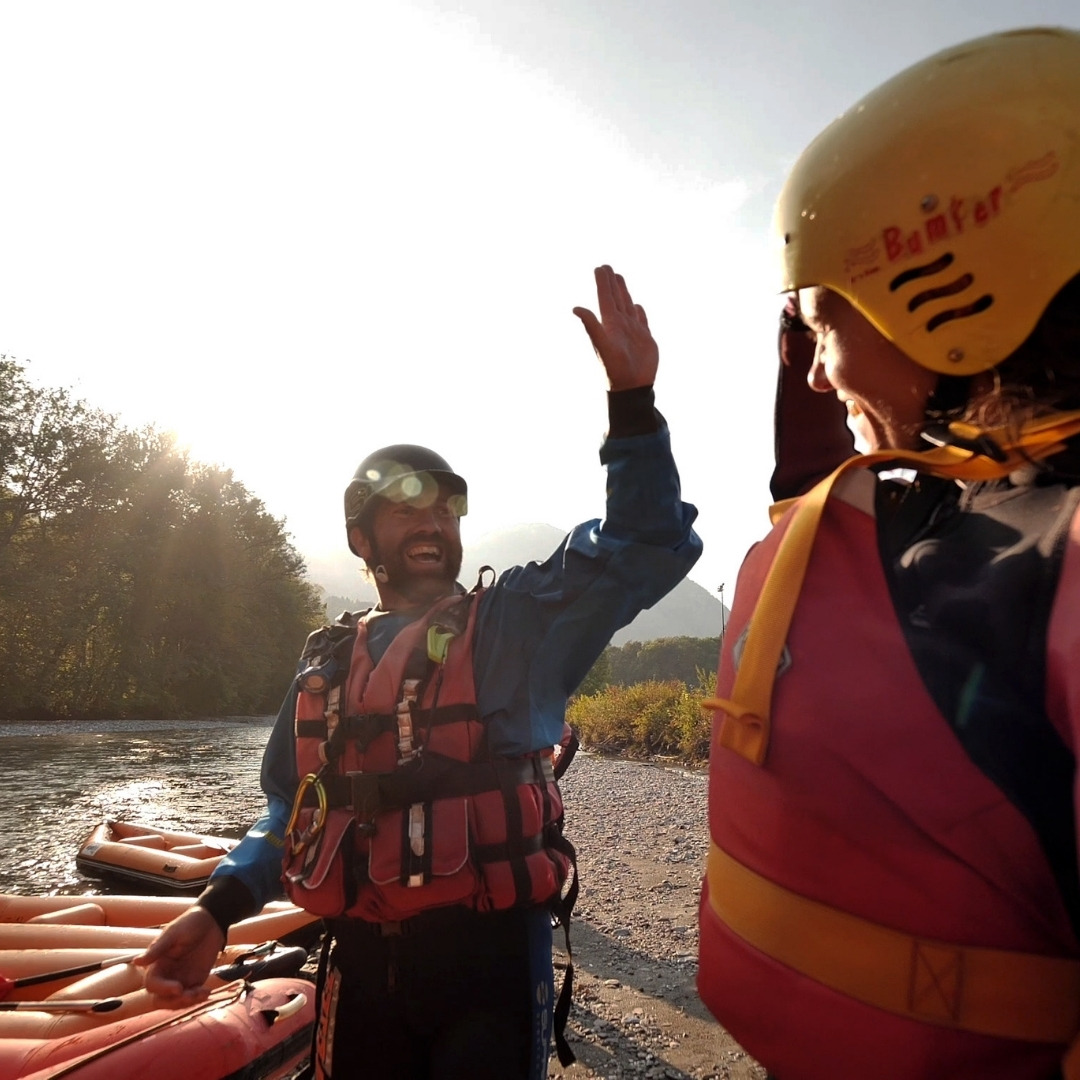 Giffre rafting