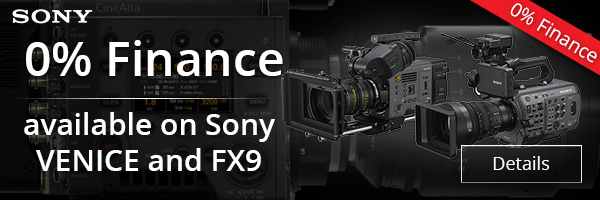 0% Finance on selected ARRI products