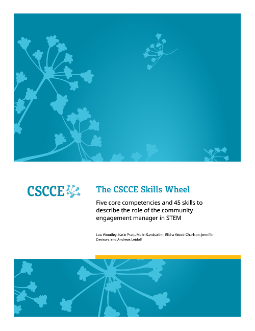 The cover of the CSCCE Skills Wheel guidebook