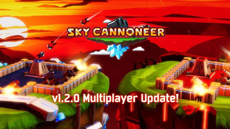 'Sky Cannoneer' PvP Multiplayer Update Out Today – Steam Codes Available by Request