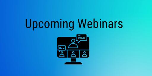 Upcoming Webinars at HiveMQ