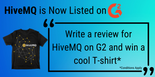 HiveMQ on G2. Submit your review now!