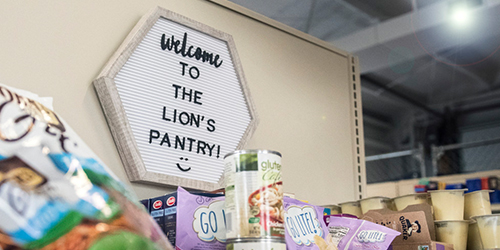The Lion's Pantry was created by students for students to help address the issue of food insecurity at Penn State's University Park campus. The pantry's mission aims to help students focus on their education, not where their next meal will come from. IMAGE: PATRICK MANSELL