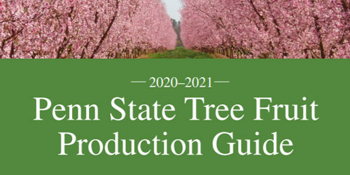 Penn State Extension's Tree Fruit Production Guide wins national award