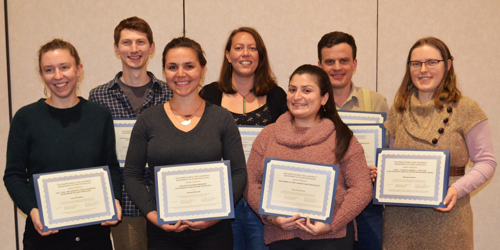 2020 Department awards and scholarships recipients announced