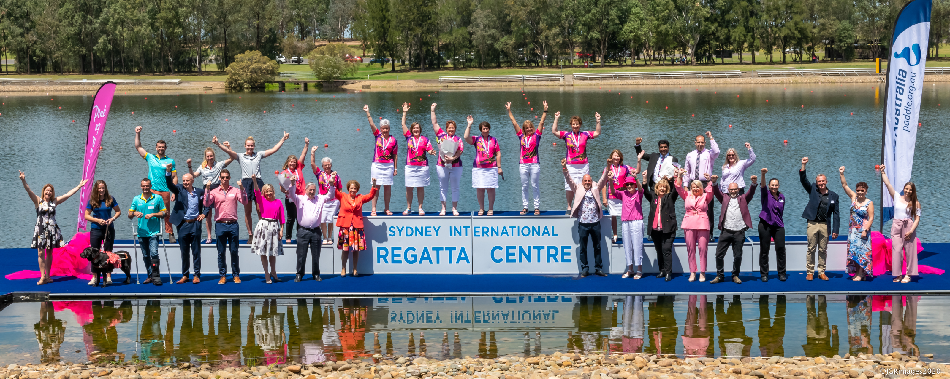 Paddle in Pink 'Medal Ceremony' @ SIRR - Photo JGRImages
