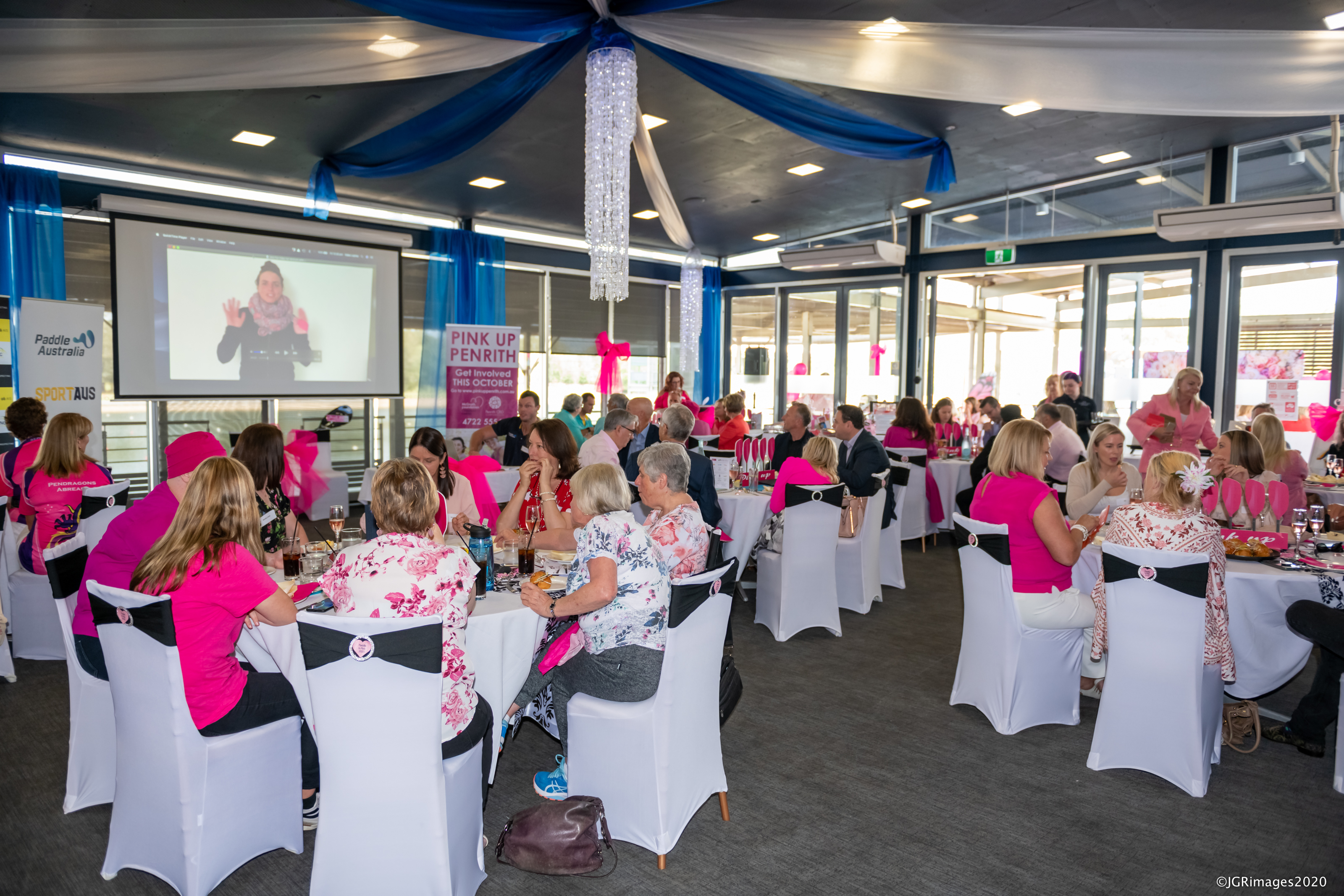 Paddle in Pink Luncheon - Photo credit JGRImages