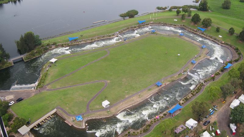 Aerial Penrith Whitewater Stadium