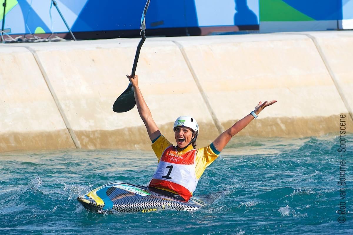 Jessica Fox - Rio 2016 - Photo Rob van Bommel, Sportscene