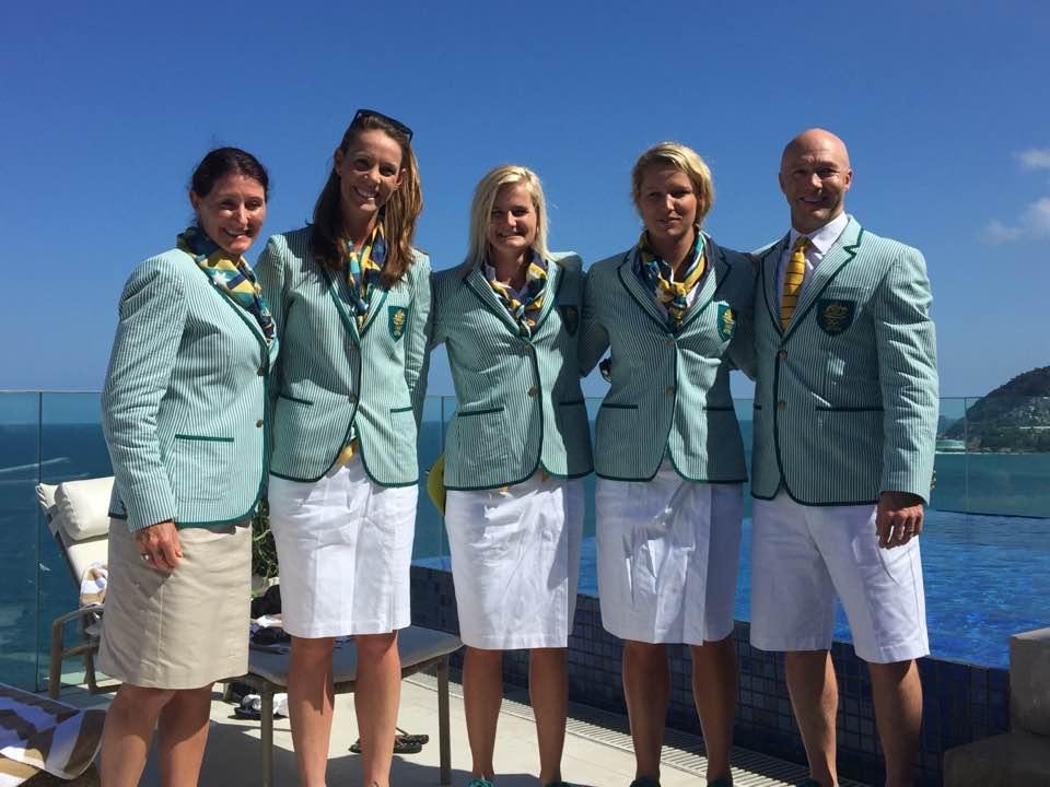 Anna Wood, Alyce Wood, Aly Bull, Naomi Flood, David Foureur - Rio 2016