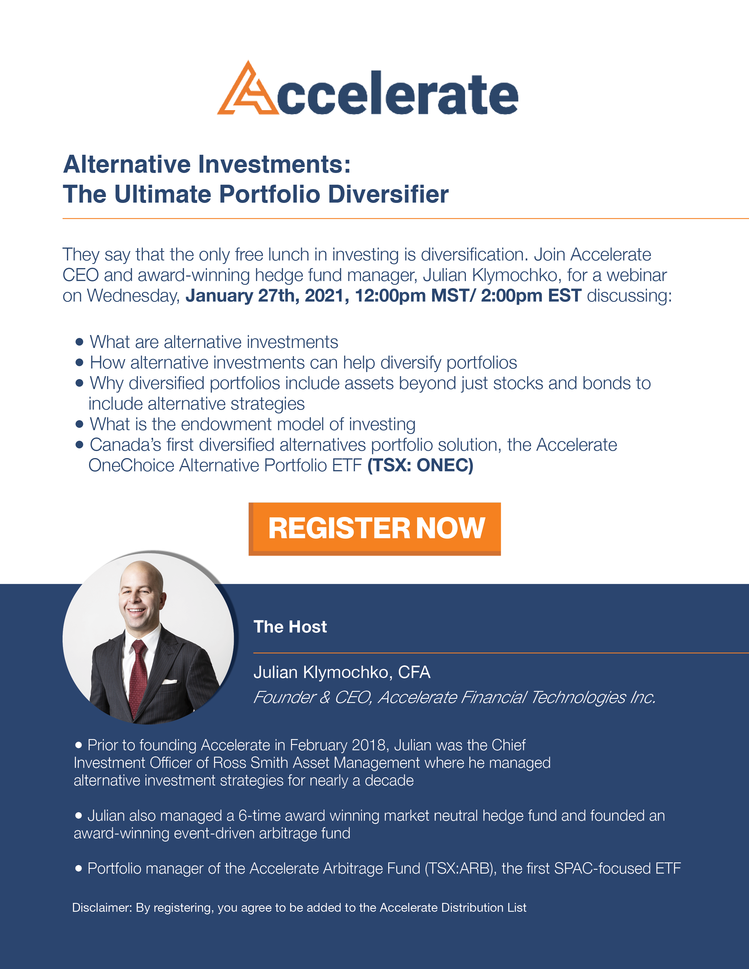 Webinar - Alternative Investments: The Ultimate Portfolio Diversifier