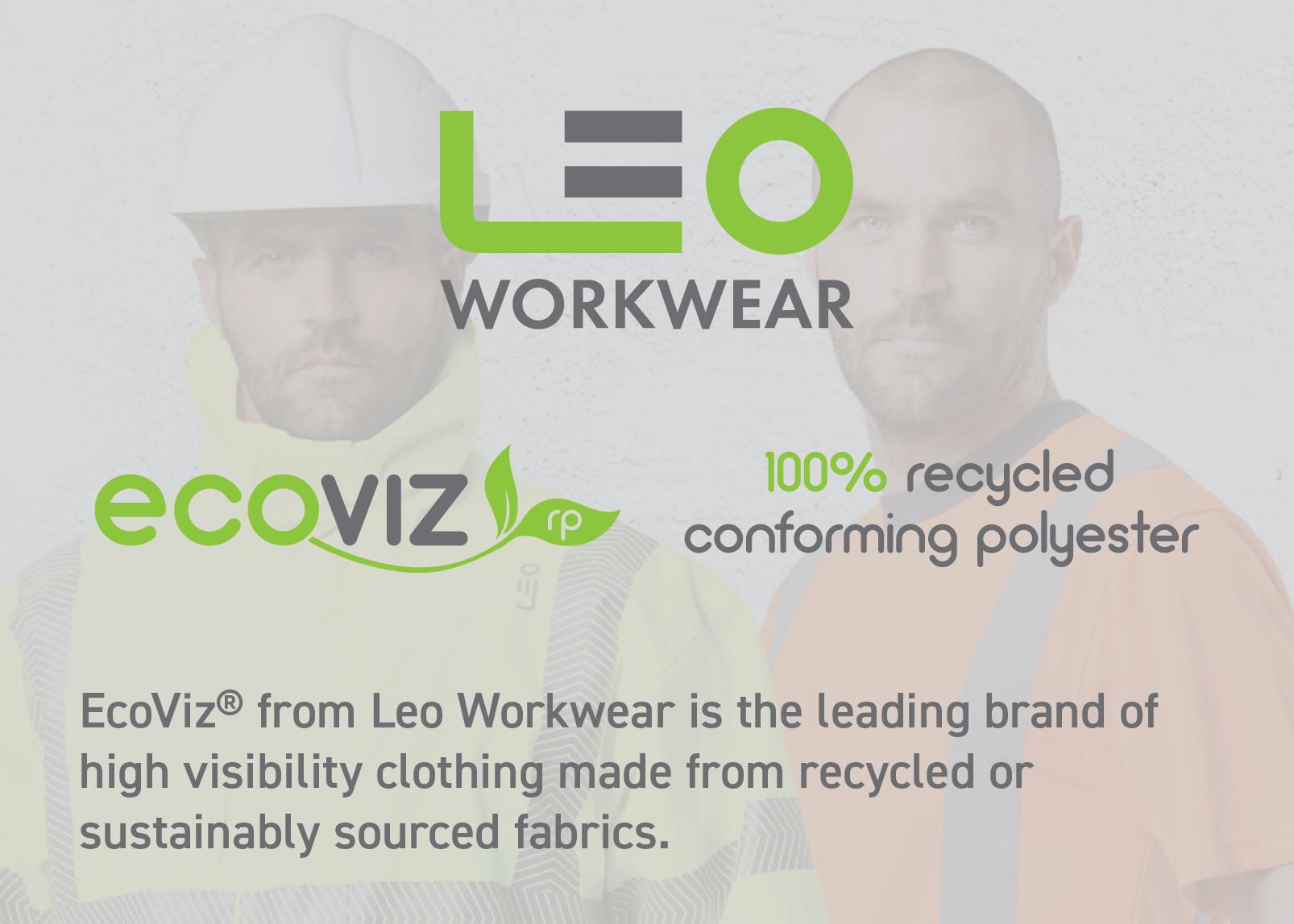 Leo Workwear EcoViz 100& Recycled Polyester