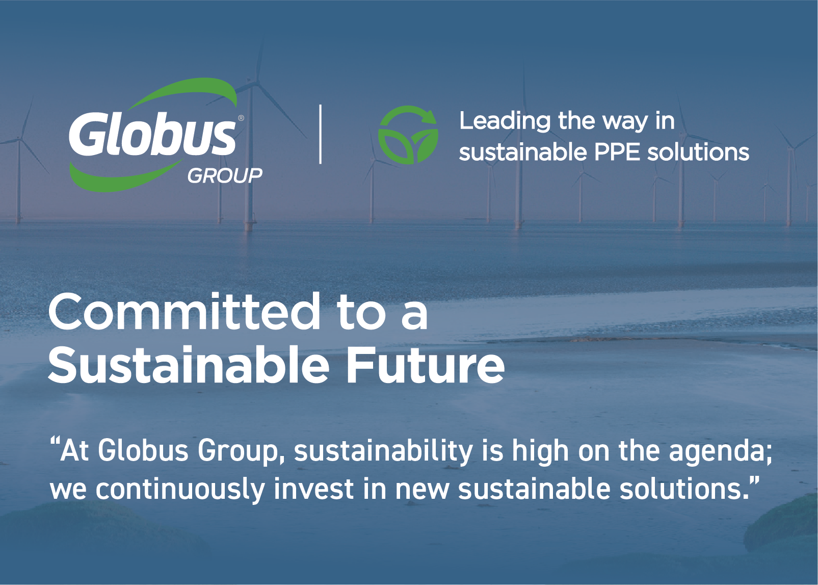 Globus Group Committed to a sustainable future
