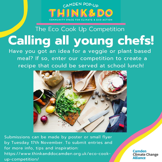 Poster for the Young Chefs competition