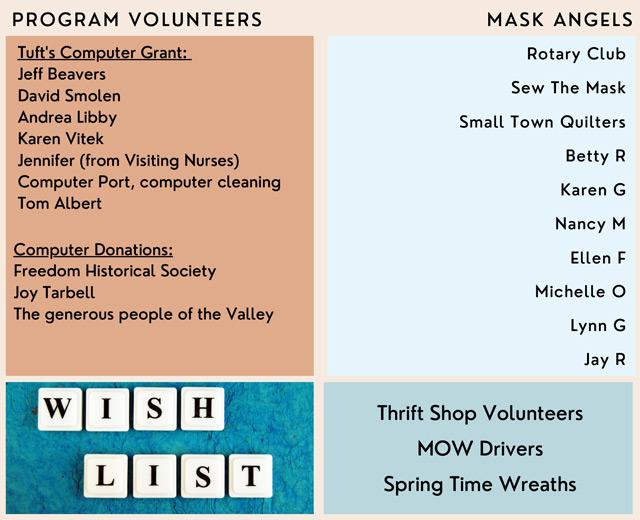 Program Volunteers