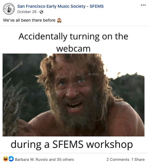 FB Post of the week SFEMS Nov 23