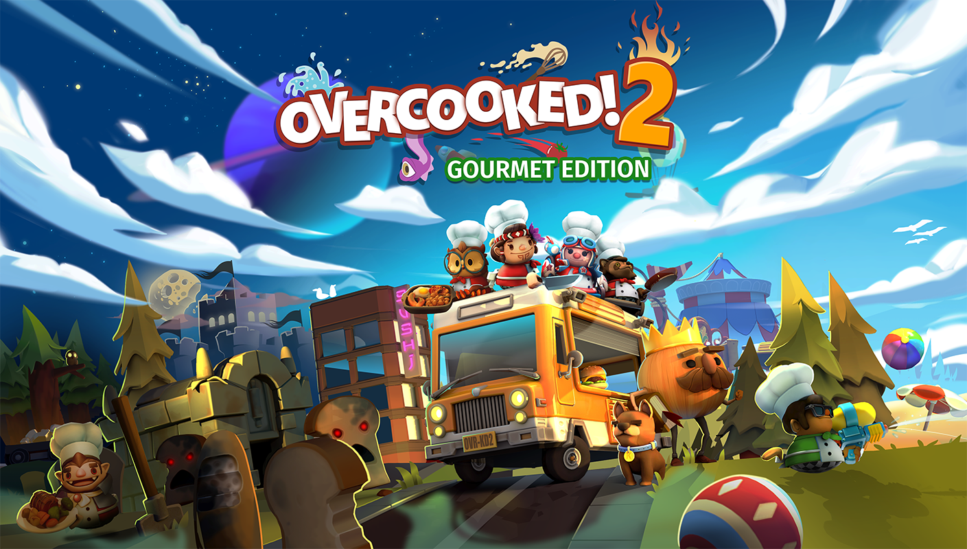 News Release: Overcooked! 2: Gourmet Edition delivers a feast