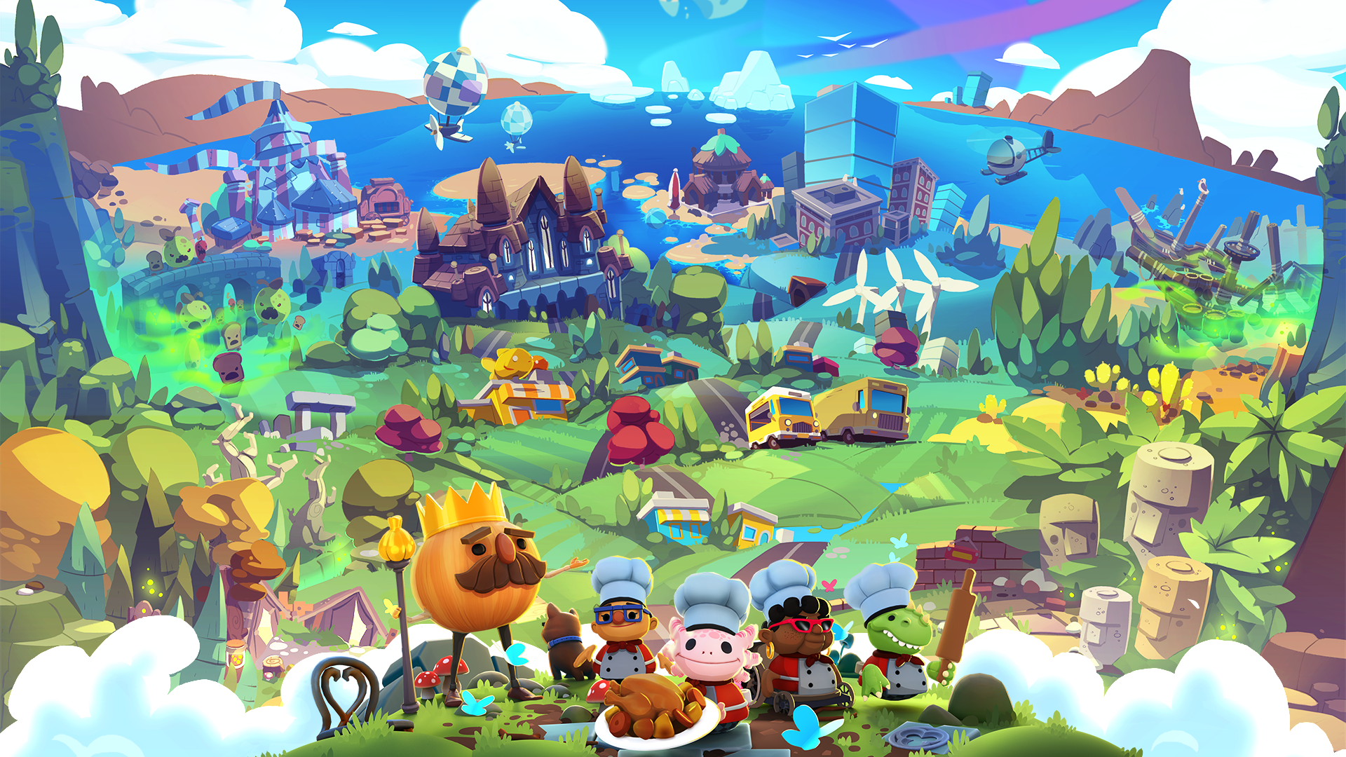 Overcooked! All You Can Eat to serve up more accessible fun than ever before