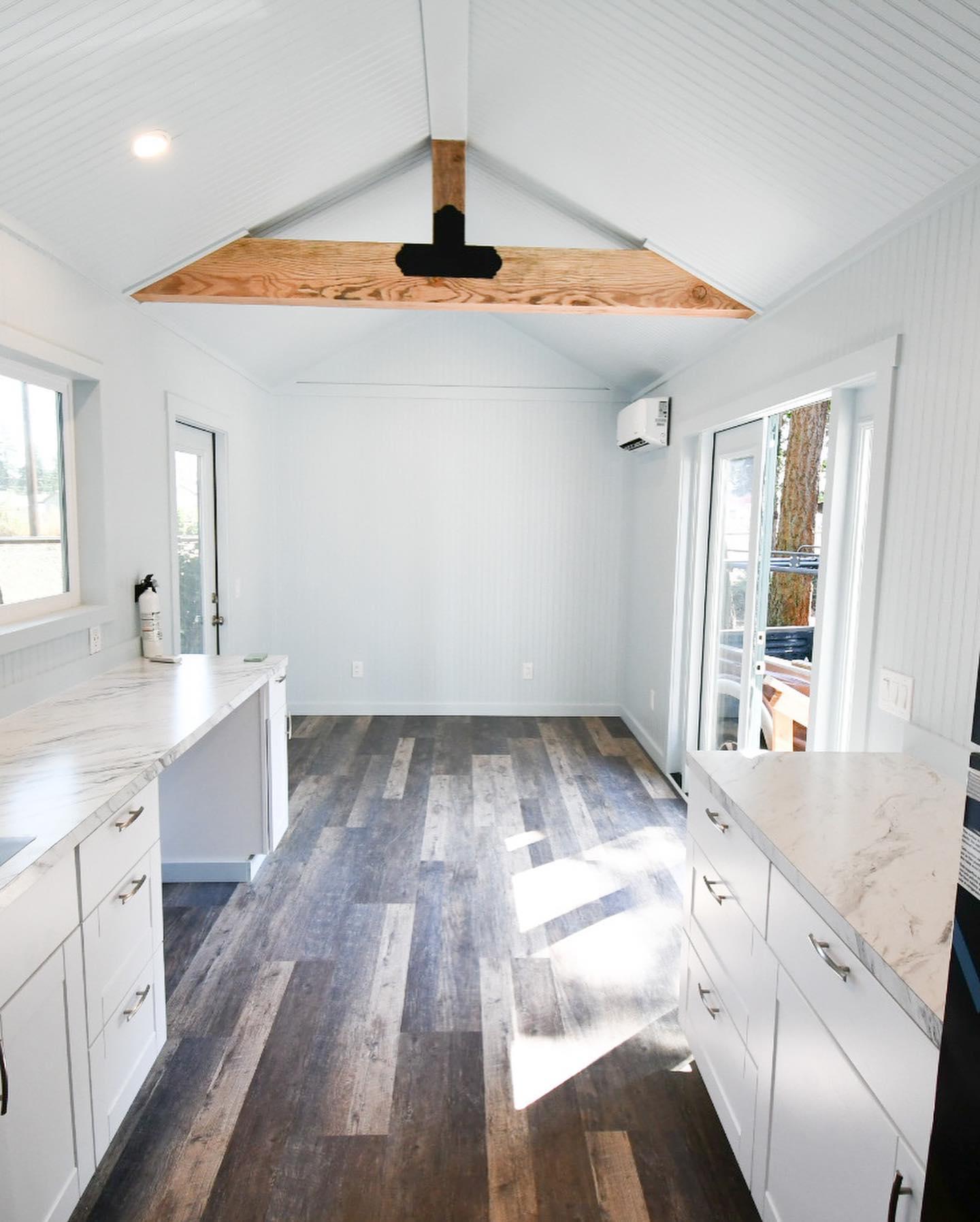 BLB slider door + living room area