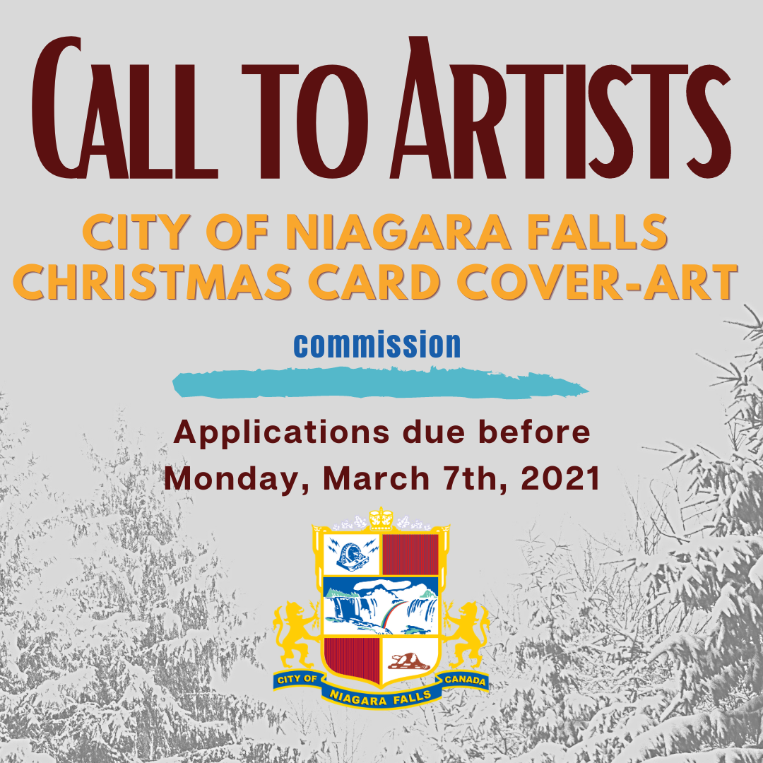 Call to Artists. City of NF Christmas Card