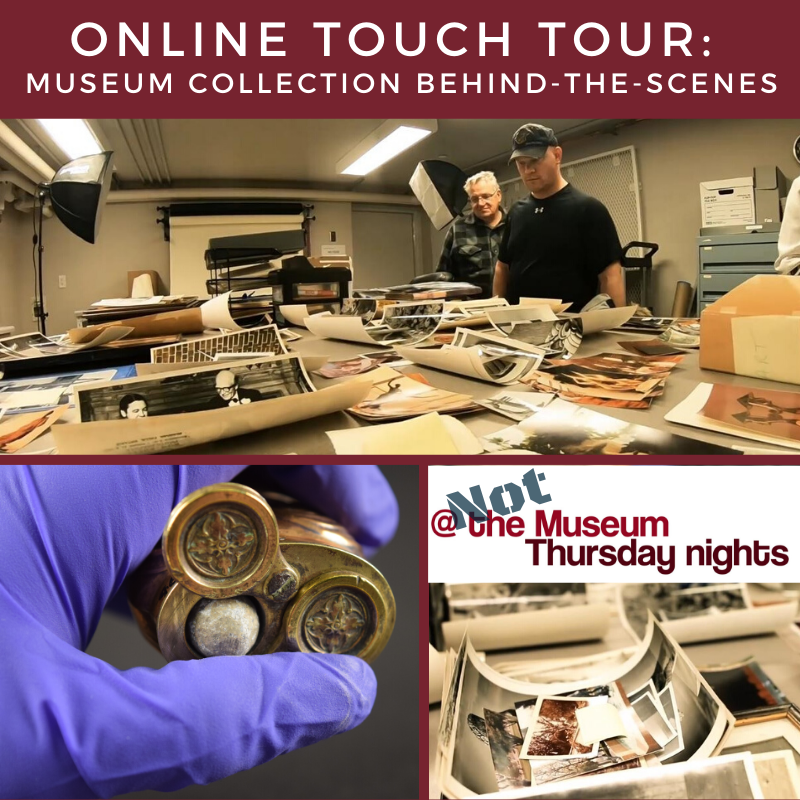 Online Touch Tour Poster