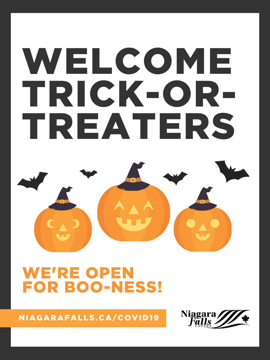 Welcome Trick-or-treaters - we're open for business