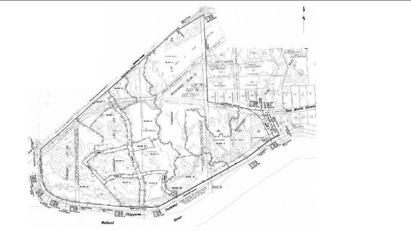 Rendering of Riverfront Community Plan