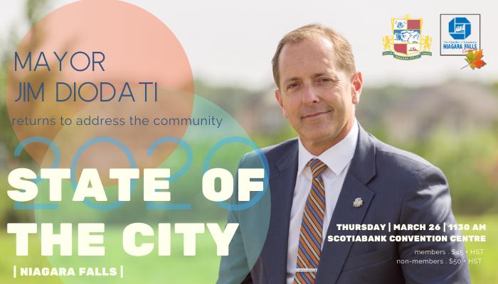 Mayor Jim Diodati State of the City