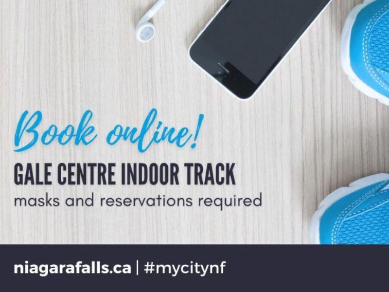 Book Online! Gale Centre Indoor Track - niagarafalls.ca