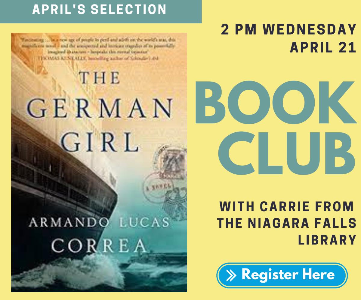Book Club. The German Girl