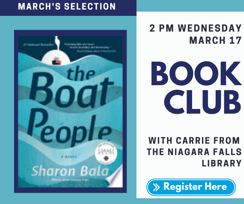 Book Club. 'The Boat People' by Sharon Bala