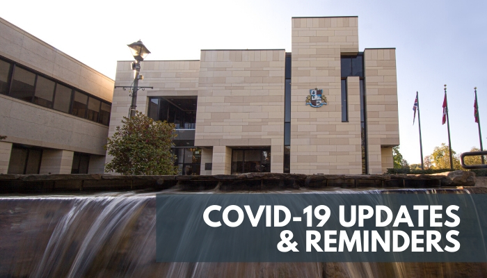 COVID-19 Updates & Reminders