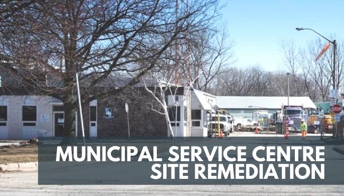 Municipal Service Centre Site Remediation, Image of the Service Centre