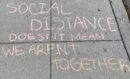Quote on Social Distancing
