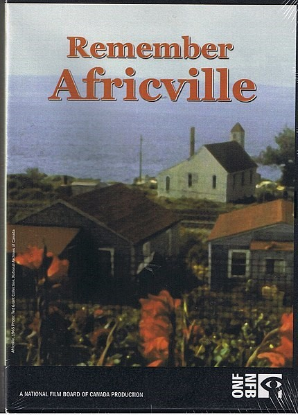 Poster for Remember Africville